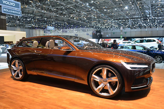 Volvo Concept Estate To Spawn V90 Luxury Wagon Joining
