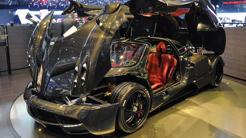 Pagani Huayra Roadster To Pack More Power, Less Weight