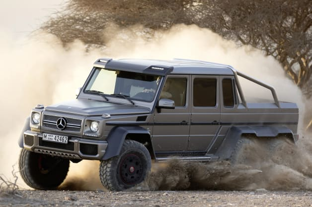 Mercedes prices g63 amg 6x6 at around 513k for Mercedes benz g class 6x6 price