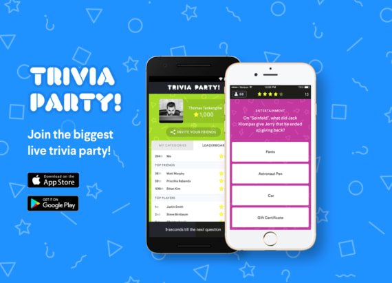 Test your knowledge with Trivia Party