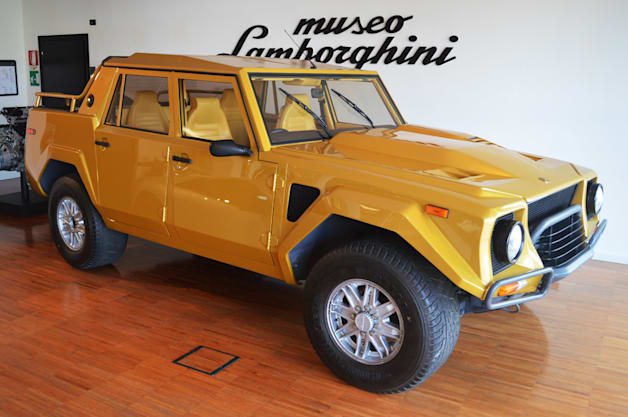 Lamborghini LM 002 at the Lamborghini Museum