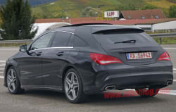 Mercedes-Benz CLA-Class Shooting Brake Spy Shots and Rendering