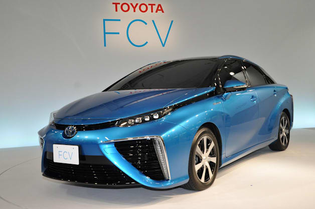 Toyota FCV Reveal