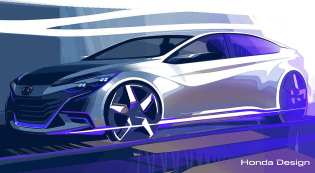 Honda Beijing Motor Show Concept