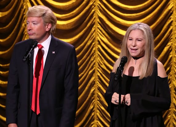 Streisand duets with Donald Trump