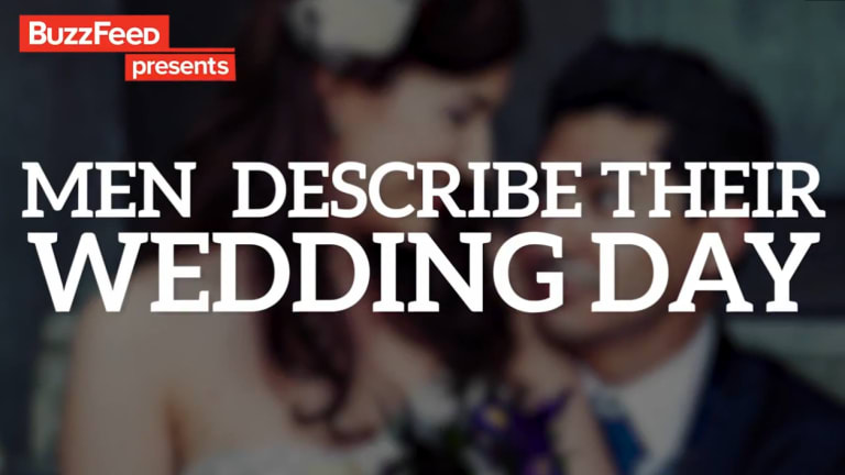 Men describe their wedding day