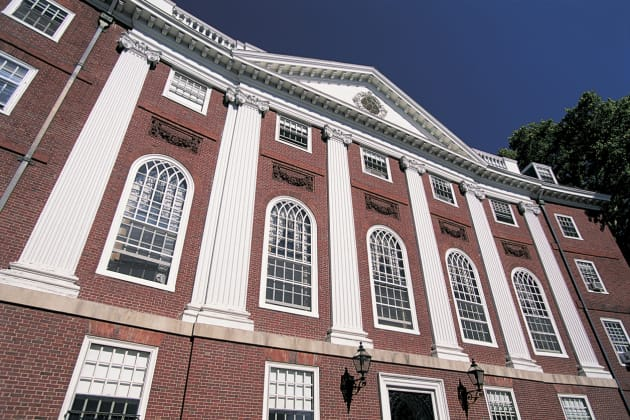 Harvard Square, Harvard University, Boston, Massachusetts, USA