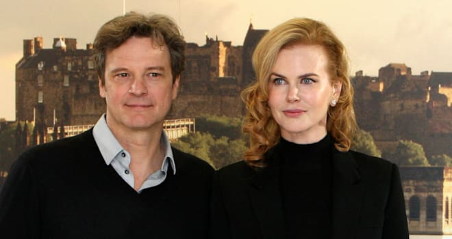 'Railway Man' Co-Stars Colin Firth and Nicole Kidman