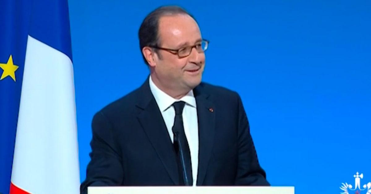 Il a plaisanté allègrement lors de son discours de lancement du salon Viva Technology.