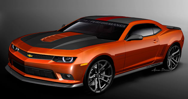 Chevy Performance Camaro V8 Concept