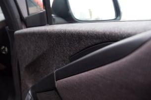 2014 BMW i3 door materials