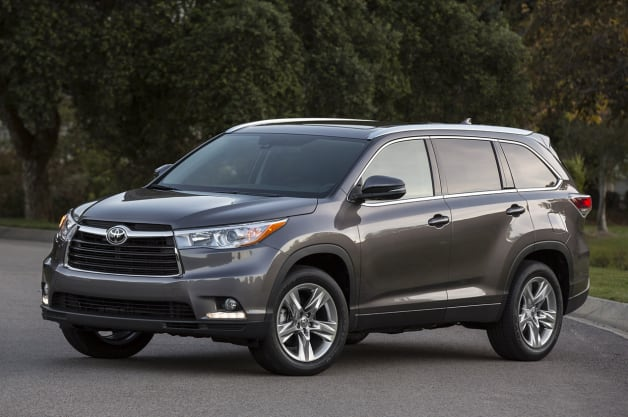 2014 Toyota Highlander recalled over seatbelt anchors