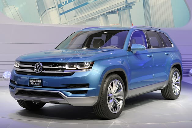 Related Gallery Volkswagen CrossBlue Concept: Detroit 2013