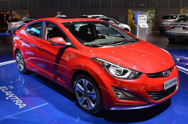 2014 Hyundai Elantra Sedan Sport