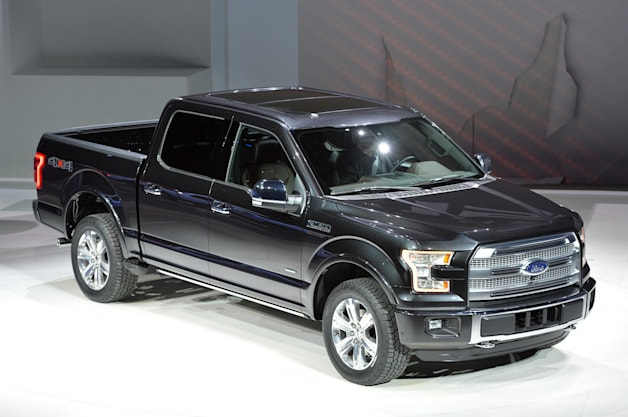 2015 Ford F-150: Detroit 2014