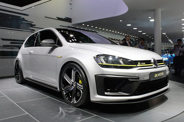 VW may actually build gonzo Golf R 400