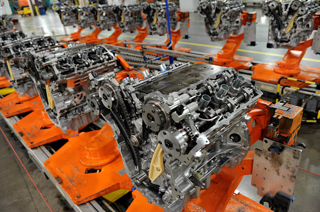 Ford 2.7-Liter EcoBoost Production