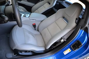 2014 Chevy C7 Corvette Stingray seats