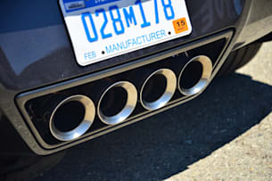 2014 Chevy C7 Corvette Stingray exhaust