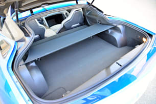 2014 Chevy C7 Corvette Stingray cargo area