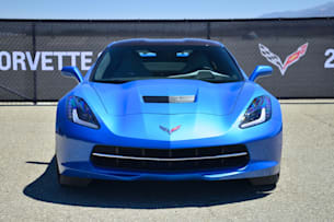 2014 Chevy C7 Corvette Stingray front end