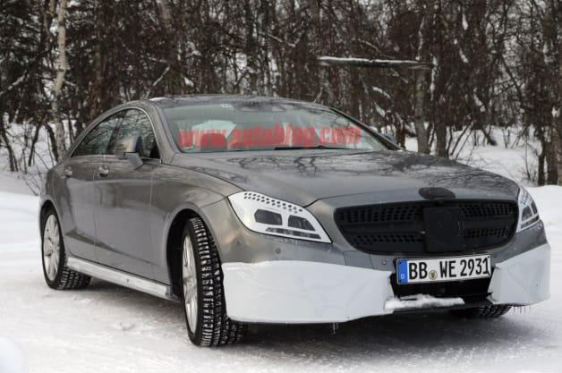 Mercedes-Benz CLS Refresh Spy Shot