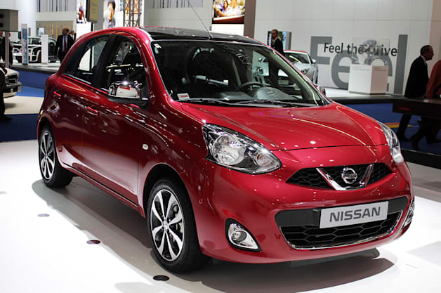 Nissan Micra at the 2013 Frankfurt Motor Show.