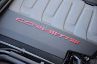 2014 Chevy C7 Corvette Stingray engine cover