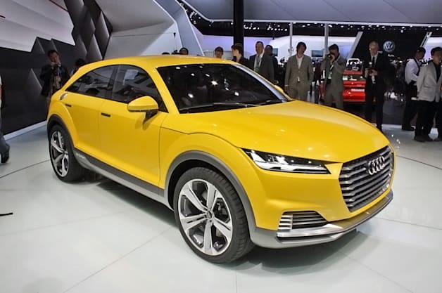 Audi TT Offroad concept packs 408 hybrid horsepower, yet returns 123 mpg