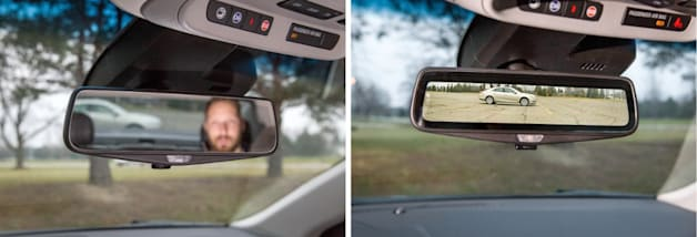Cadillac CT6 will get high-res streaming video rearview mirror