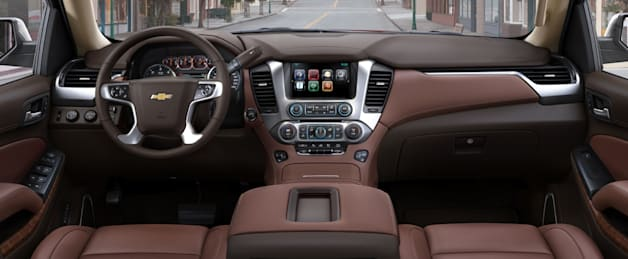 2015 Chevy Tahoe interior