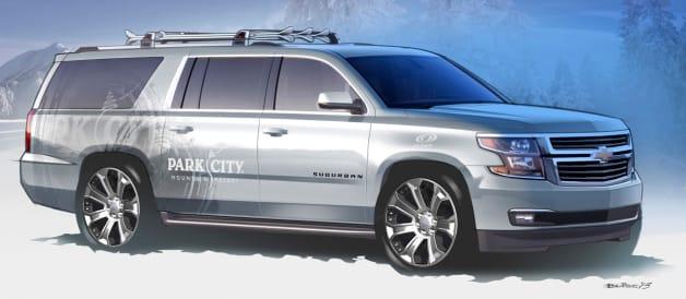 Chevrolet Suburban Half-Pipe Concept