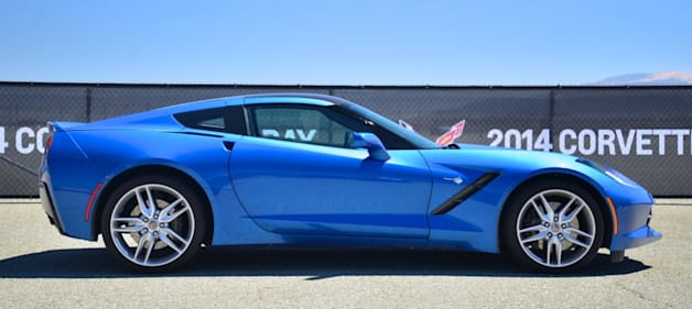 2014 Chevy C7 Corvette Stingray profile