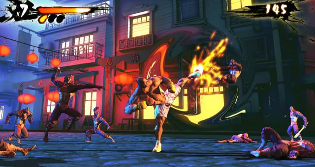 Games Shaq Fu