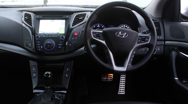 2014 Hyundai i40 Tourer dash