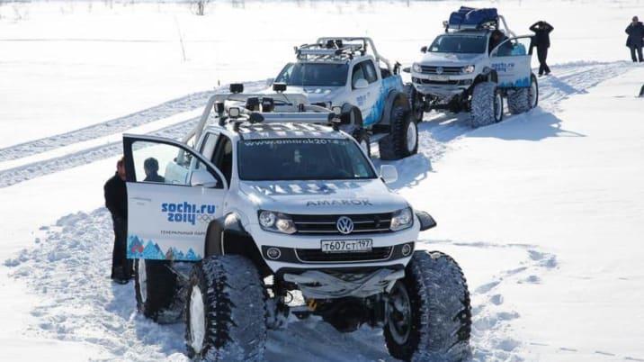 VW Amarok Polar Expedition