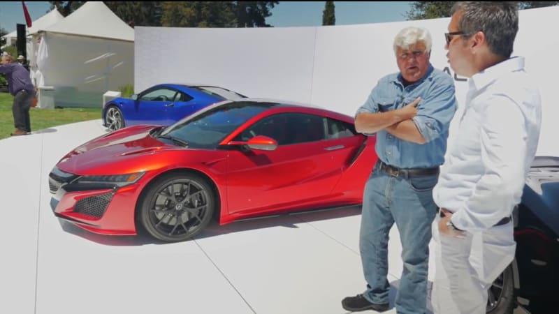 Singer Porsche, Koenigsegg, NSX: Leno's life doesn't suck