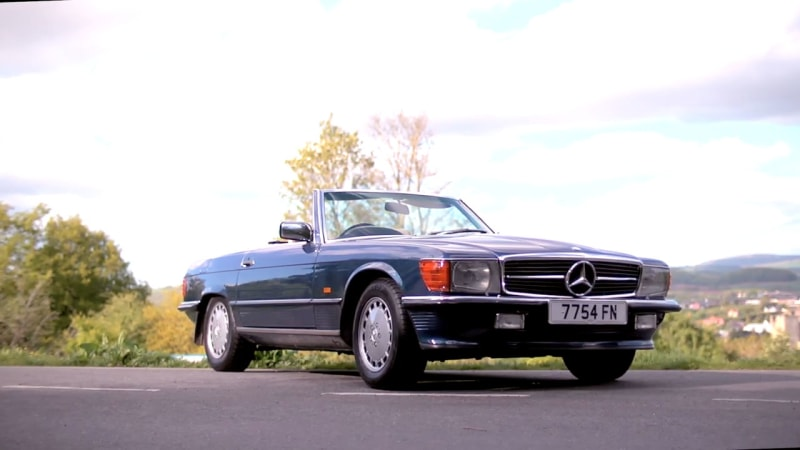 Charles Morgan Cruises Wales In A 1987 Mercedes Benz Sl500