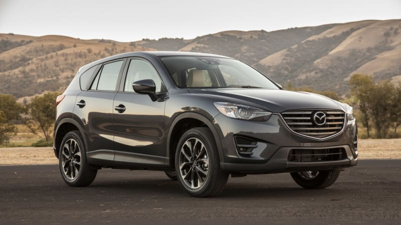 Mazda halts sales of CX-5 due to fire risk in crashes