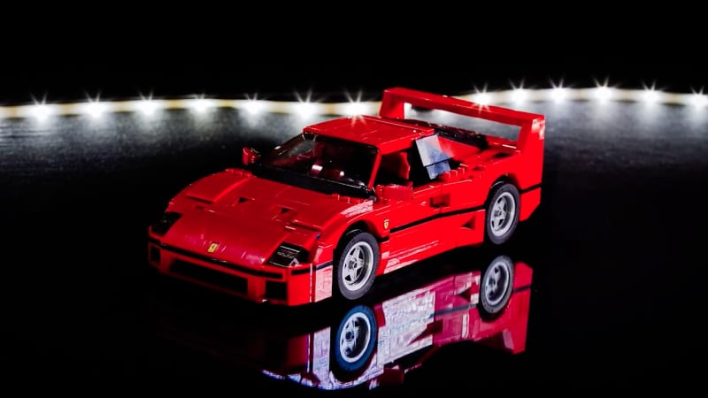lego ferrari f40 built a brick at a time on time lapse video mazdaspeed forums. Black Bedroom Furniture Sets. Home Design Ideas
