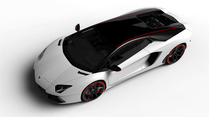 Lamborghini Aventador Pirelli Edition available this summer