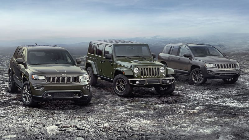 Image result for jeep 75th anniversary