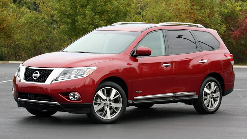 Nissan axing Pathfinder Hybrid from 2016 lineup