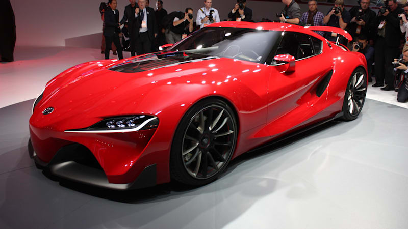 Toyota Ft 1 Engine >> Next Toyota Supra might be called S-FR - Autoblog