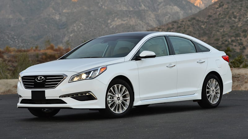 The Sonata is an example of Hyundai's revamped design exploits.