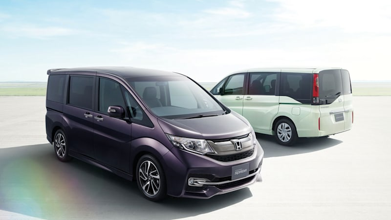 Honda rolls out new Step WGN in Japan