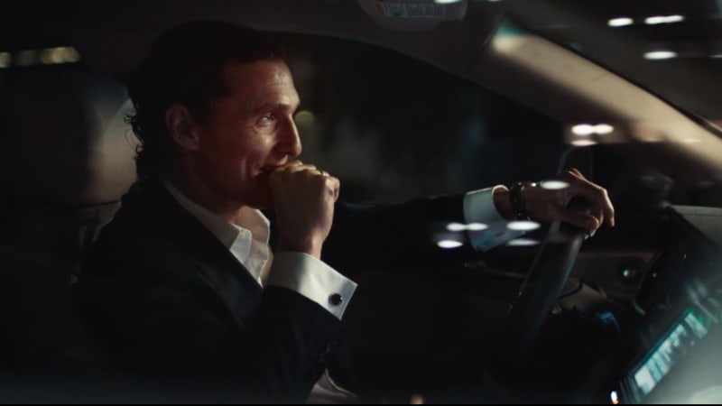 matthew mcconaughey returns in new lincoln mkx ads autoblog. Black Bedroom Furniture Sets. Home Design Ideas