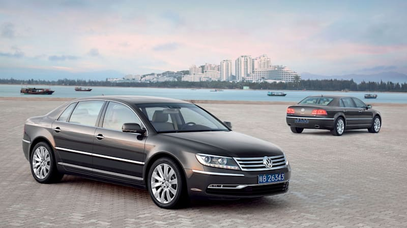 Will a Phaeton EV rise from the VW Dieselgate ashes?
