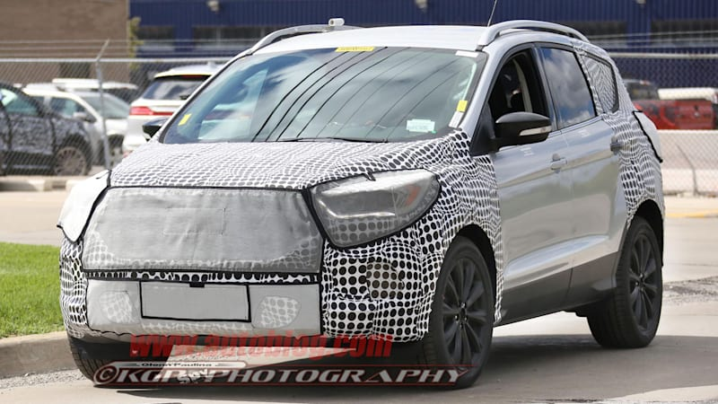New Ford Escape spied inside and out