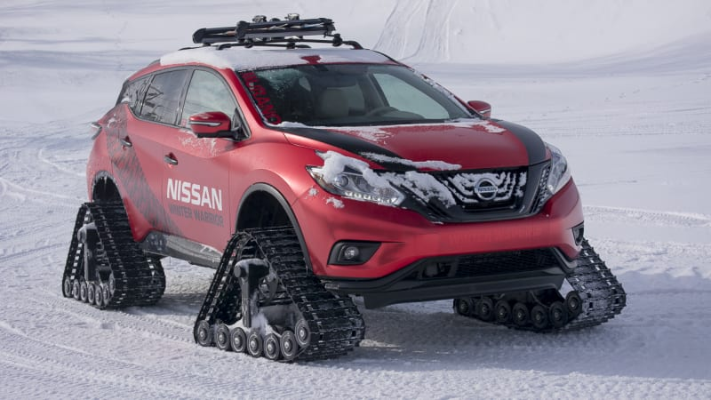 Nissan's Winter Warriors are uncomfortable, brutal, and awesome